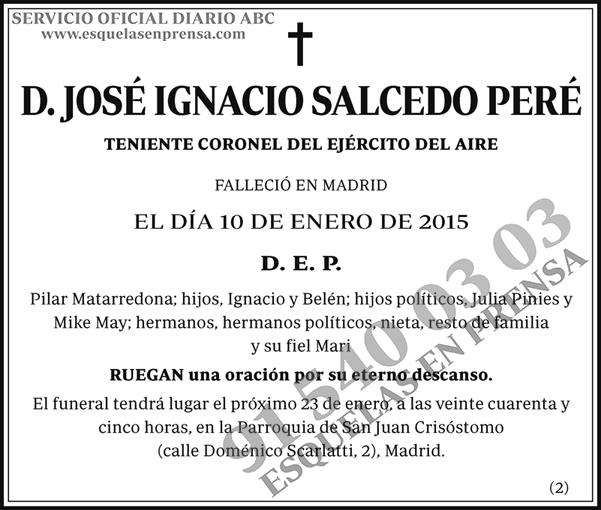 José Ignacio Salcedo Peré